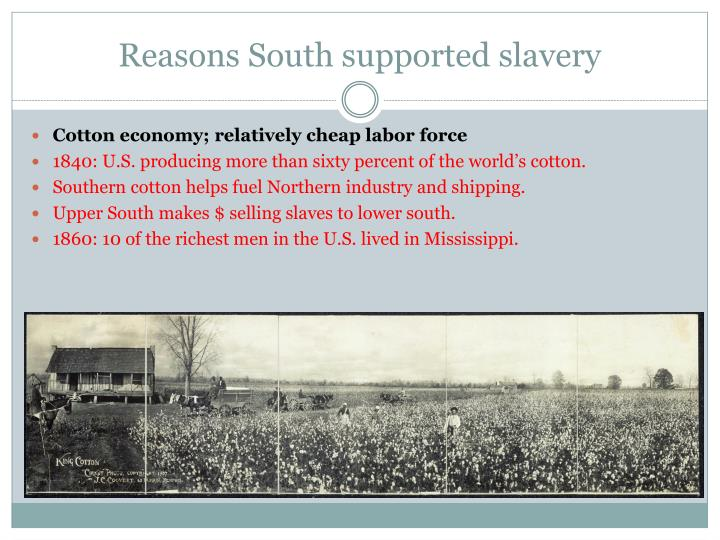 reasons slavery Fourth-graders at a wauwatosa school were asked to name three good and  bad reasons for slavery.