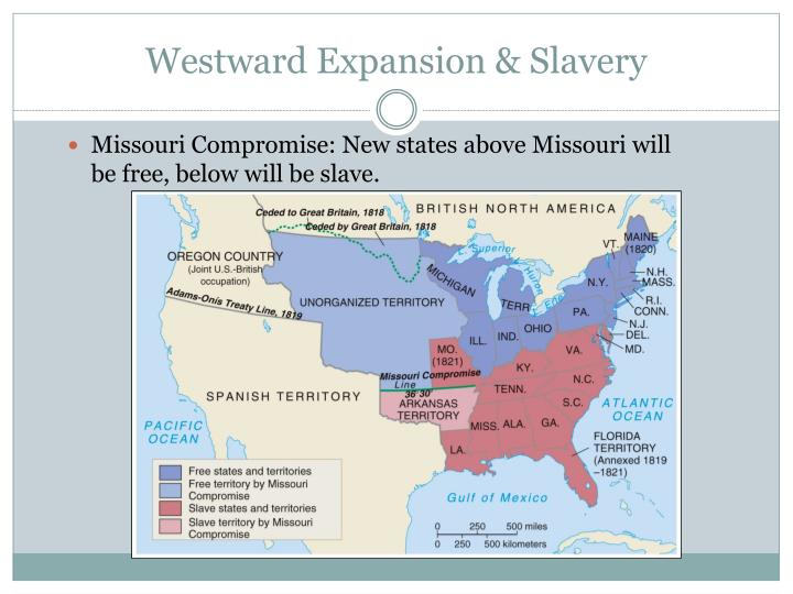 territorial expansion and slavery Territorial expansion was the main cause of the civil war to what extent do you agree with this statement territorial gain, slavery would not have been.