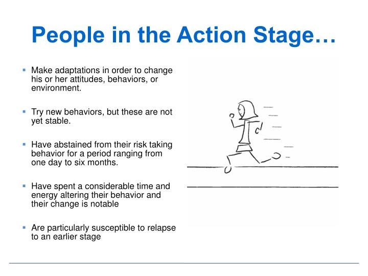 People in the Action Stage…