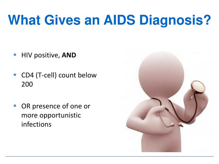 What Gives an AIDS Diagnosis?