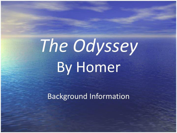 the themes in the odyssey by homer