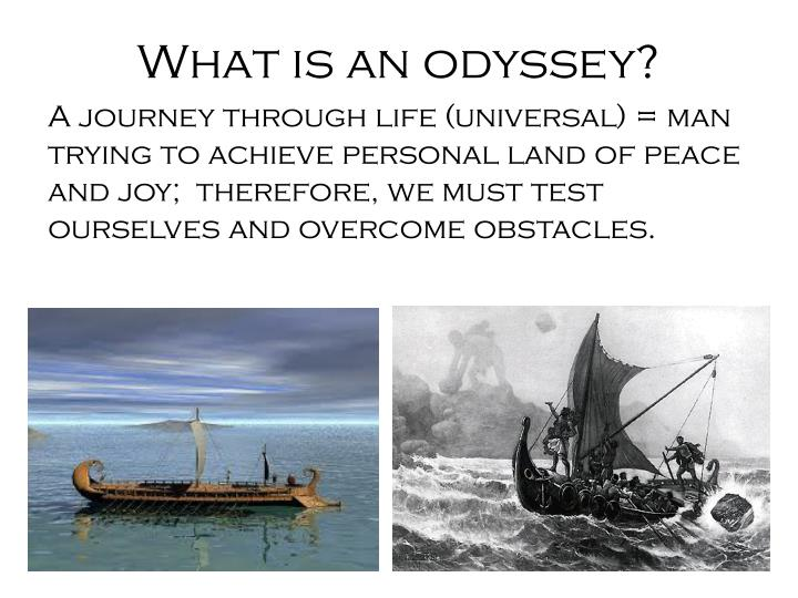 the journey of odysseus and his greatest obstacles in the odyssey by homer
