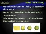 mesh smoothing
