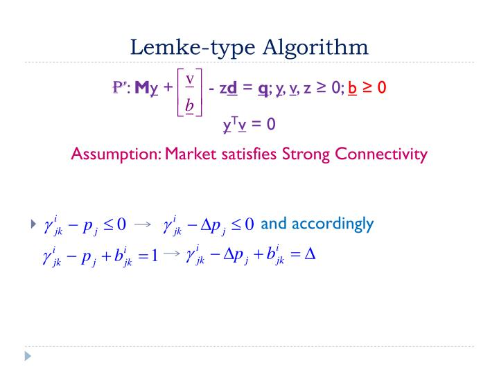 Lemke-type Algorithm