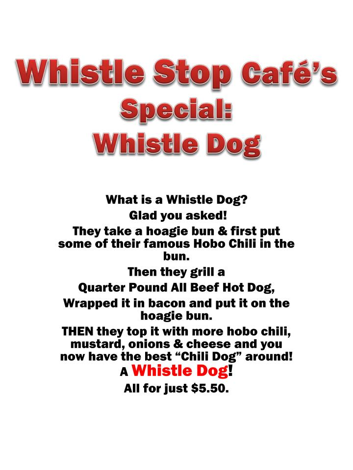 special whistle dog n.