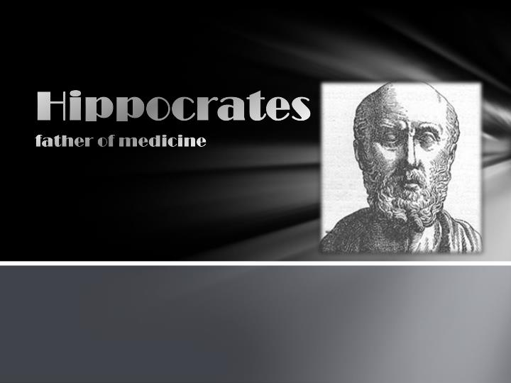 hippocrates father of medicine n.