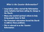 what is the counter reformation