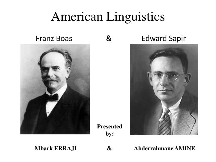 american structural linguistics American structural linguistics has normally been presented as the revolution linguistics needed to get rid of all the one of these men was undoubtedly henry sweet.