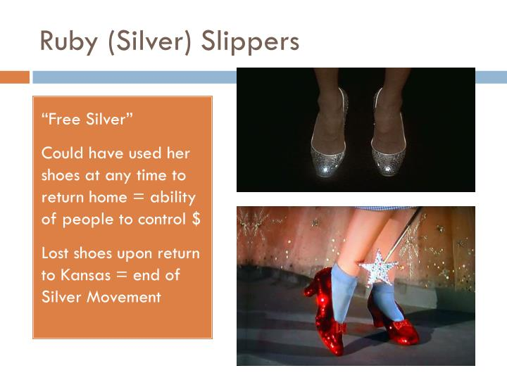 Ruby (Silver) Slippers