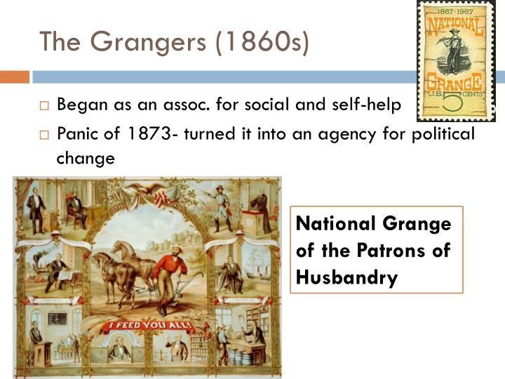 The grangers 1860s
