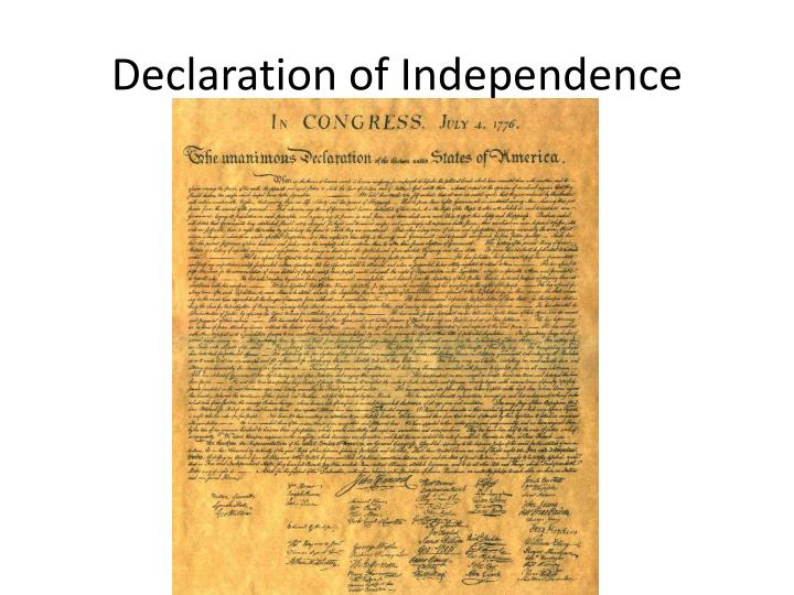 the necessity of jeffersont declaration of independence for american society Jefferson's response to the danbury baptists is a classic expression on the place of religion in american civil society with its invocation of a wall of separation between church and state circular to the heads of departments, 6 november 1801.