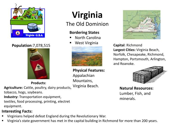 virginia the old dominion n.