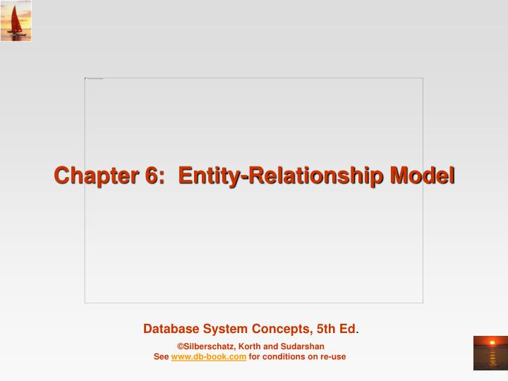 chapter 6 entity relationship model n.