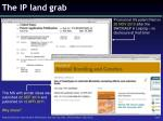the ip land grab