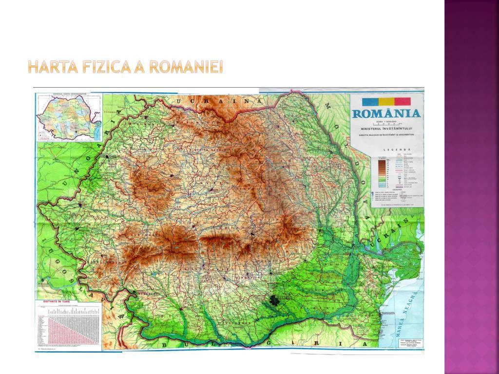 Ppt Relieful Romaniei Powerpoint Presentation Free Download