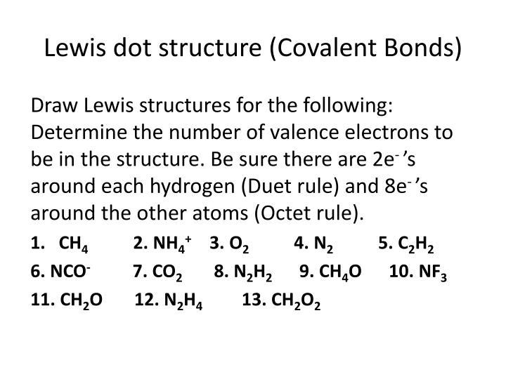 Oxygen Covalent Bond Lewis Structure Golfclub