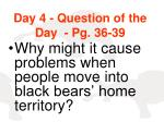 day 4 question of the day pg 36 39