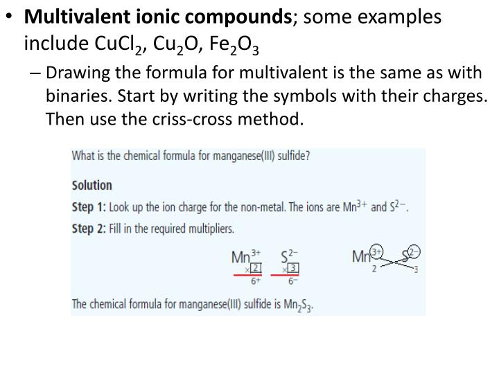 Ppt 26 Ionic Compounds Chemical Formulas And Naming Powerpoint