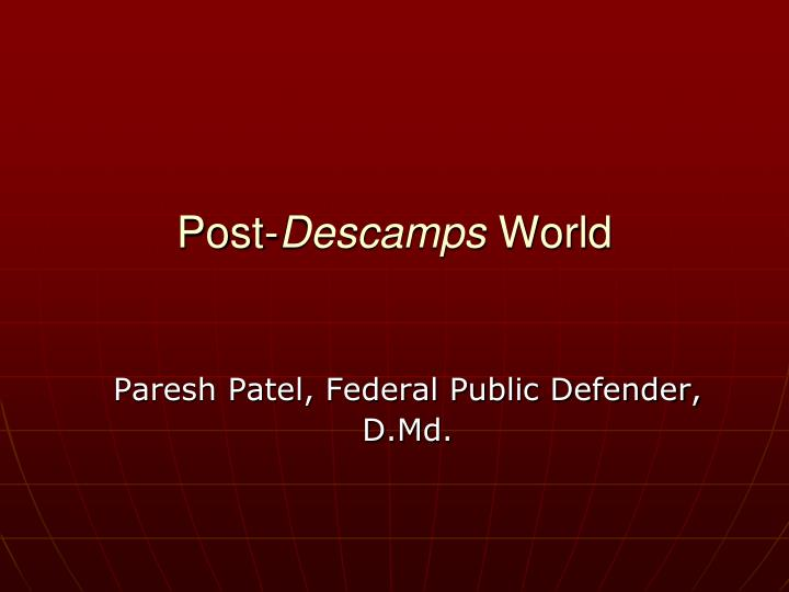 paresh patel federal public defender d md n.