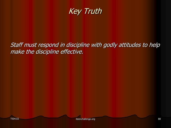 Key Truth