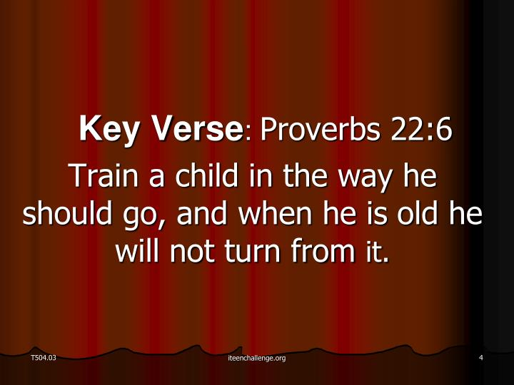 Key Verse