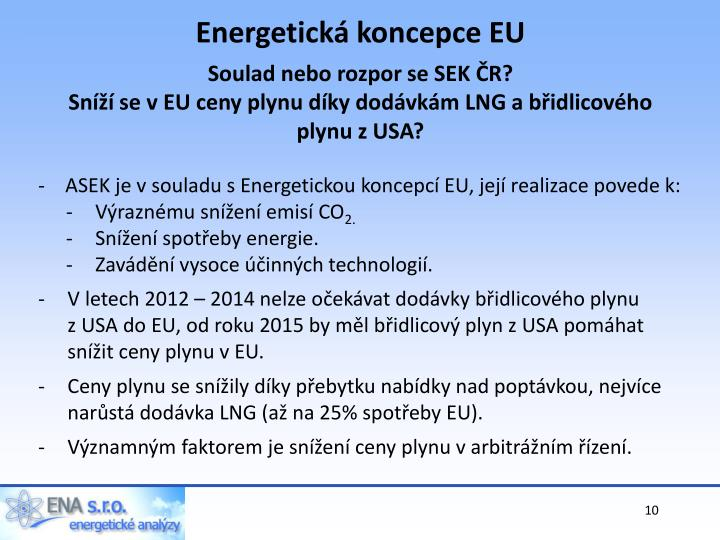 Energetická koncepce EU