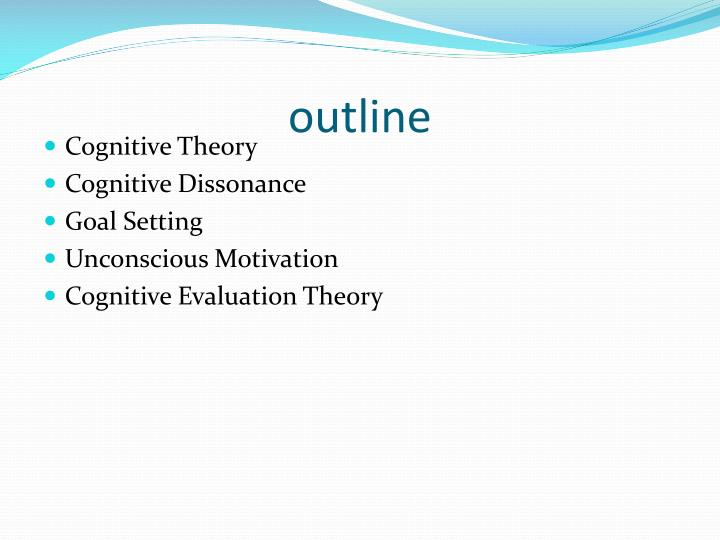a look at the concept behind the cognitive theory of stress Cognitive therapy or cognitive behavior therapy (cbt) aims to help people identify incorrect ways of thinking and dysfunctional for example, the cognitive distortions theory doesn't consider disqualifying the positive: you point out all the negative facts without looking at the positive.