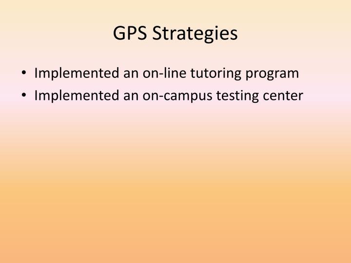 GPS Strategies