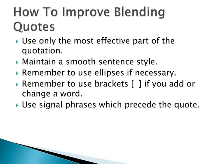 Ppt Quote Blending Powerpoint Presentation Id2436143