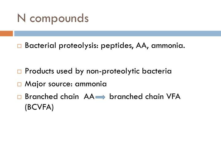 N compounds