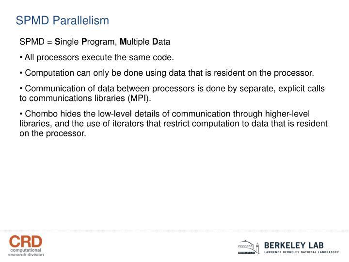 SPMD Parallelism