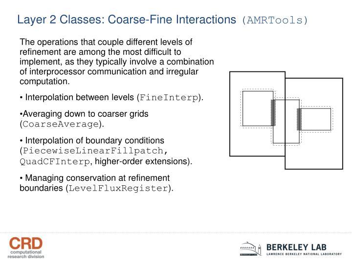 Layer 2 Classes: Coarse-Fine Interactions