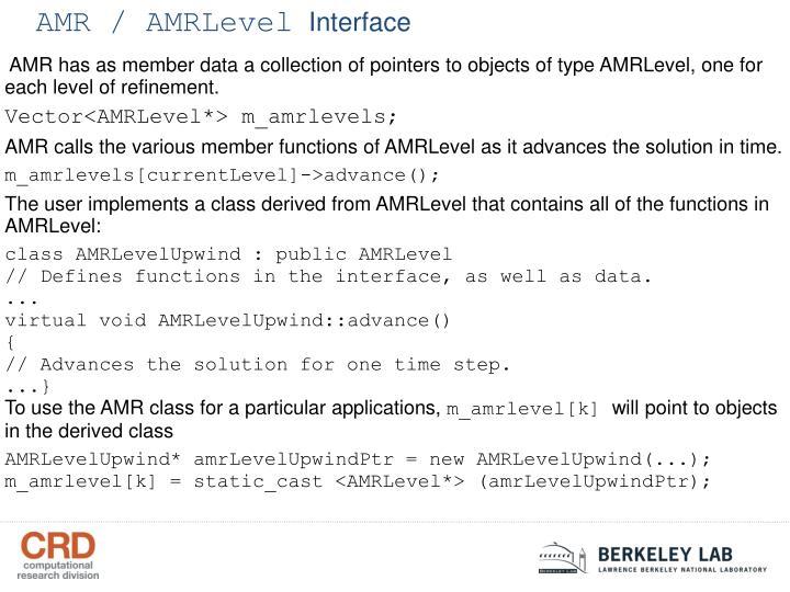 AMR / AMRLevel