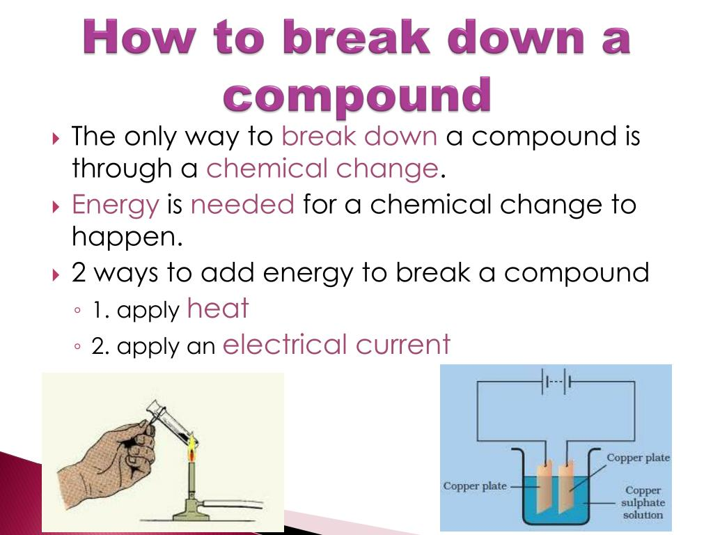 PPT - Elements, Compounds, and Mixtures PowerPoint