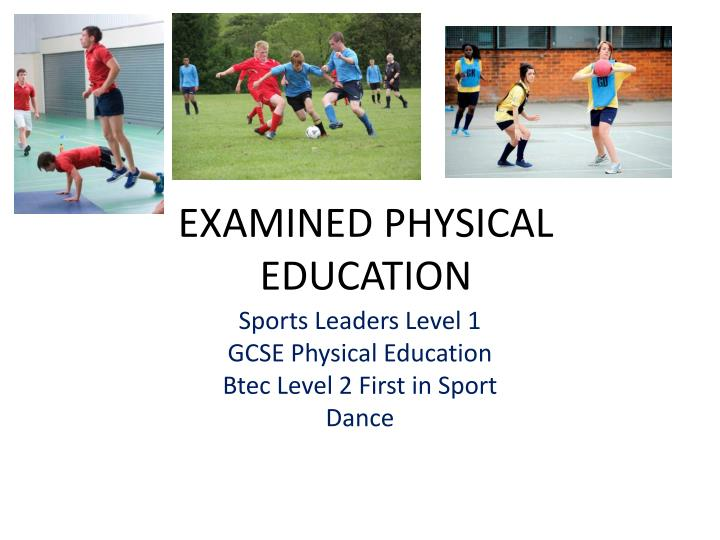 thesis for physical education