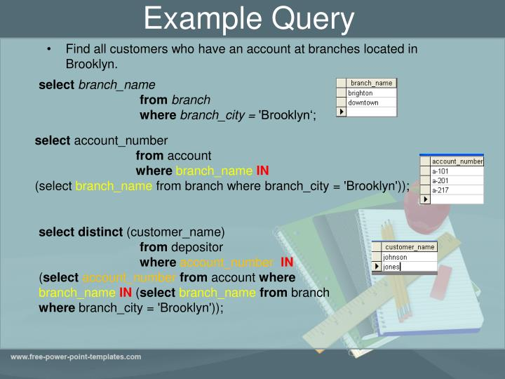 Example Query
