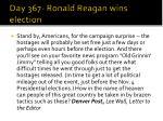 day 367 ronald reagan wins election