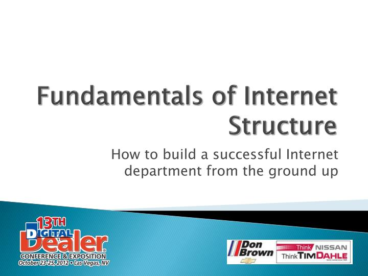 Fundamentals of internet structure