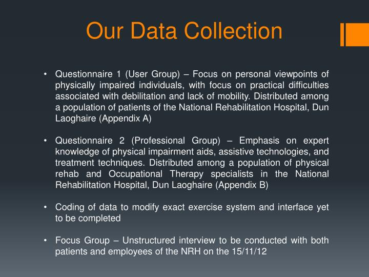 Our Data Collection