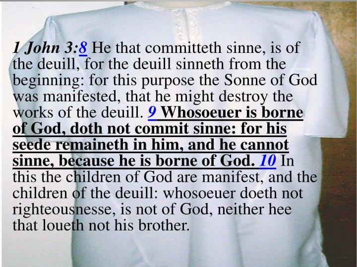 1 John 3: