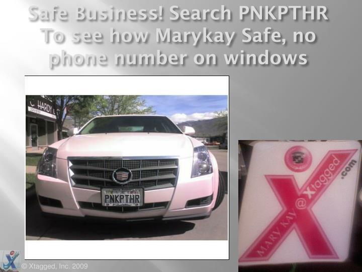 Safe Business! Search PNKPTHR To see how