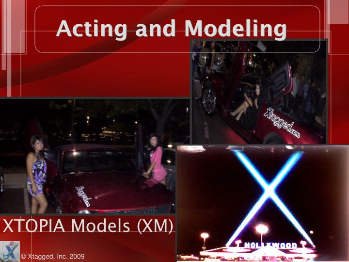 Acting and Modeling