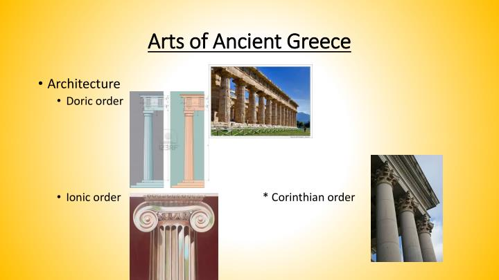 Arts of Ancient Greece