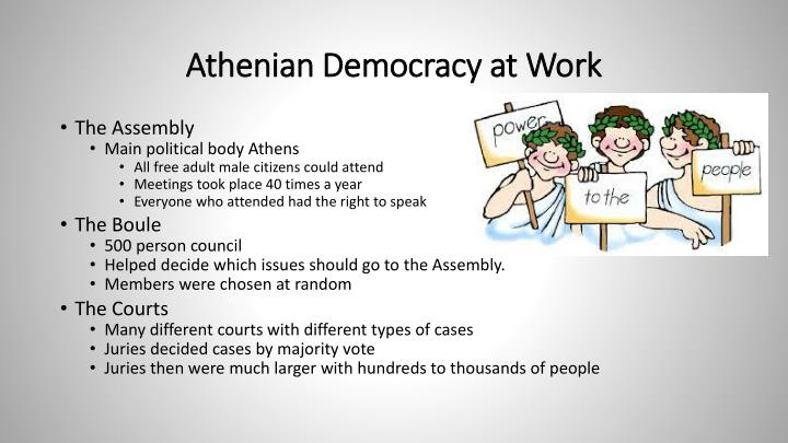 Athenian Democracy at Work