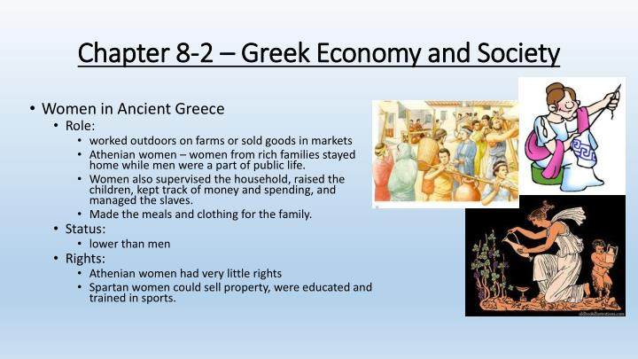 Chapter 8-2 – Greek Economy and Society