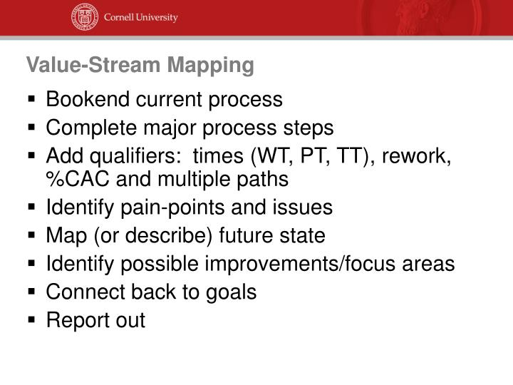 Value-Stream Mapping
