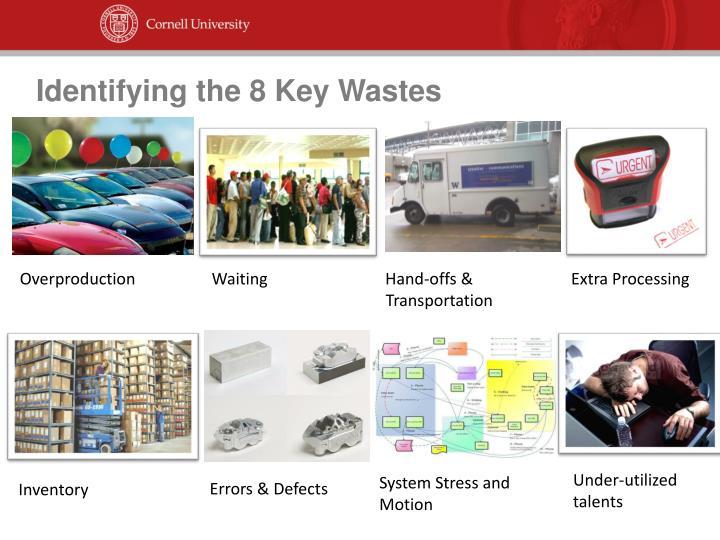 Identifying the 8 Key Wastes