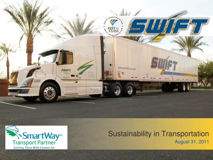 sustainability in transportation n.