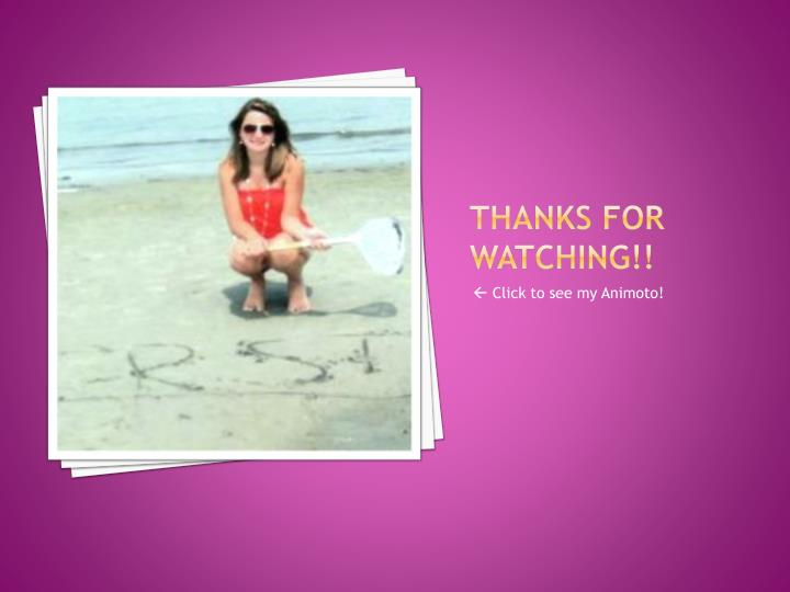 Thanks for Watching!!