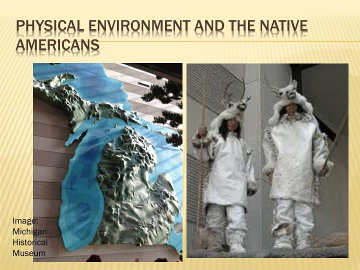 physical environment and the native americans n.